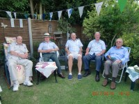 Family BBQ - Relaxing after ?
