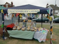 Our stall at Tankerton Slopes 31-7-10