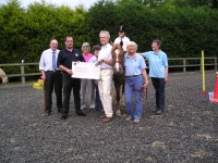 Presentation of Cheque to Riding for the Disabled 17-6-09